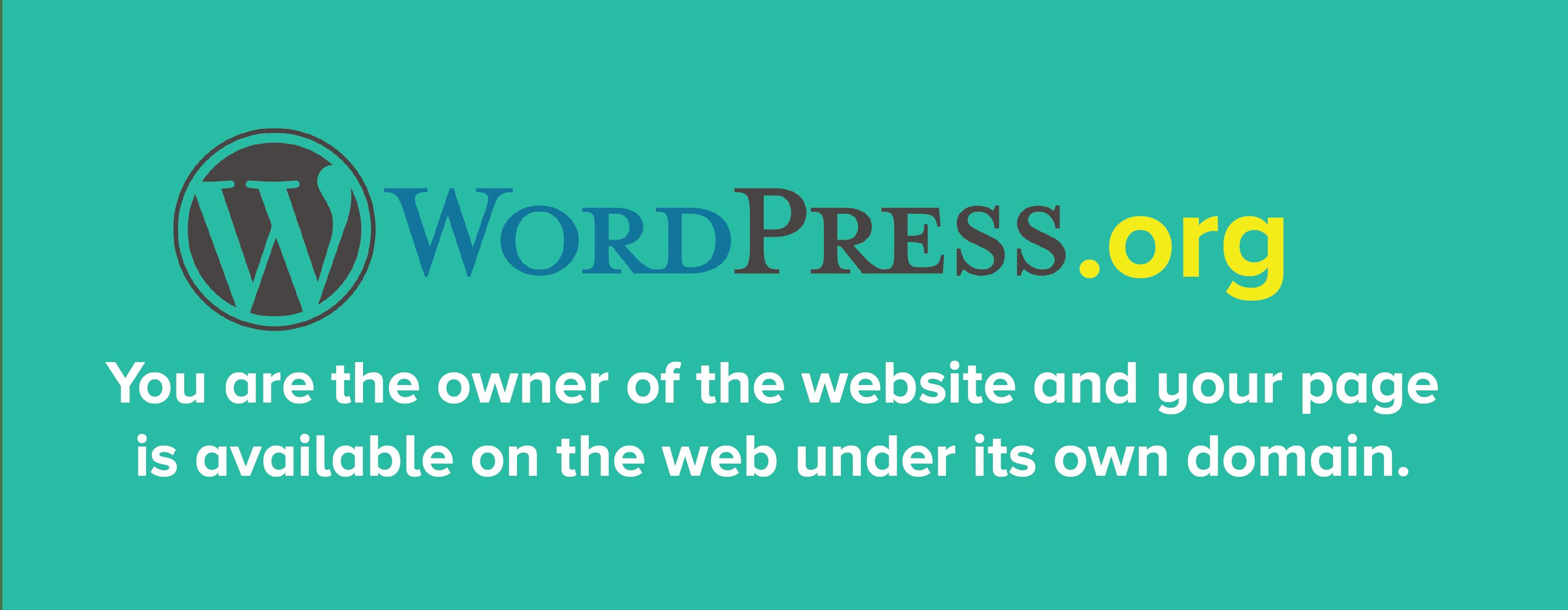 wordpress.org advantages
